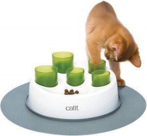 jeu distributeur croquettes chat