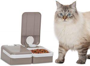 chat va bien distributeur croquettes